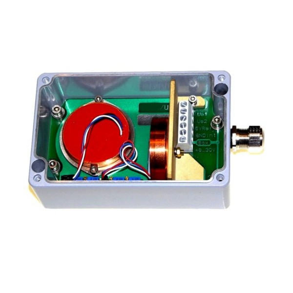 SM2U: Sensor box (2-axis Inclinometer) - Output signal 0-5V
