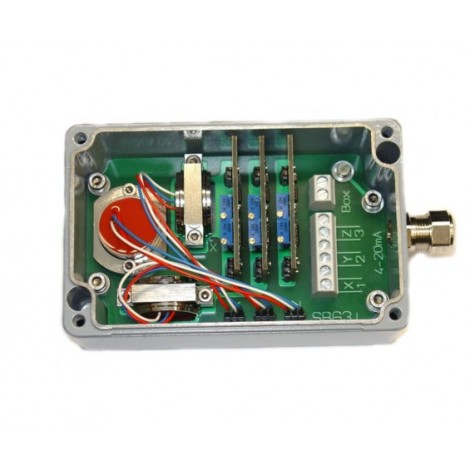 SM3i: Sensor box (3-axis Inclinometer) - Output signal 4-20mA