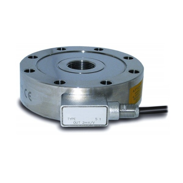 SM4: Tension and Compression Pancake Load Cell - Up to 500T