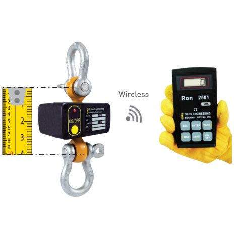 RON2501 - Shackle Type Wireless Dynamometer - 0.5, ...,  300 Tonnes