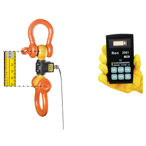 RON2000- Shackle Type Dynamometer - 0.5, ...,  300 Tonnes