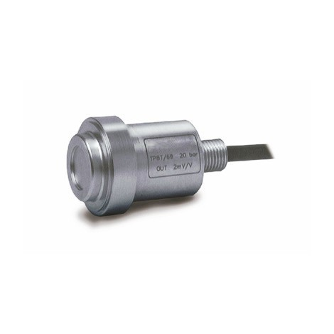 SM-TP8: high temperature flush diaphragm pressure transducer - From 10, ..., 1000 bars