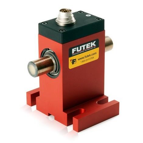 TRS705 : Capteur de couple rotatif sans contact à entrainement  rond de +/- 1 ... +/- 1000 Nm - codeur - support de montage