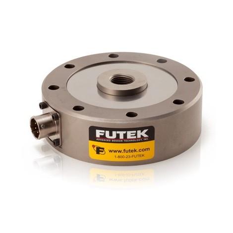 LCF450 -- LCF550 : Capteur de force type galette en traction compression  +/- 250 Lb .... +/- 400 000 Lb (de 1 KN à 1000 KN)