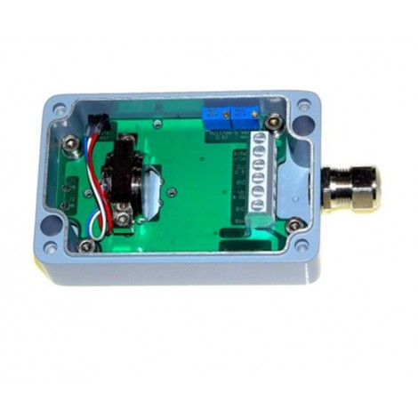 SM-1U : Boitier inclinomètre / accéléromètre  IP67 mono axe sortie 0...5 V