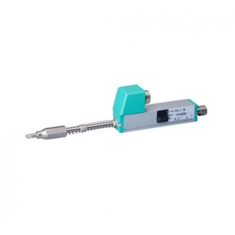 PY2 : Capteur de déplacement linéaire avec palpeur à bille de 0 à 10, ..., 100 mm.