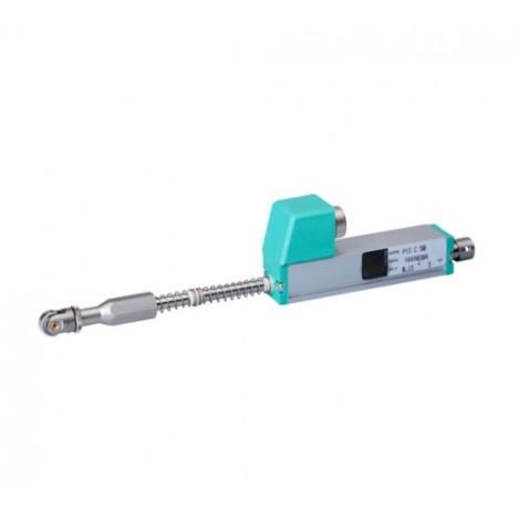 PY3 : Capteur de déplacement linéaire avec palpeur à roulette de 0 à 10, ..., 50 mm.