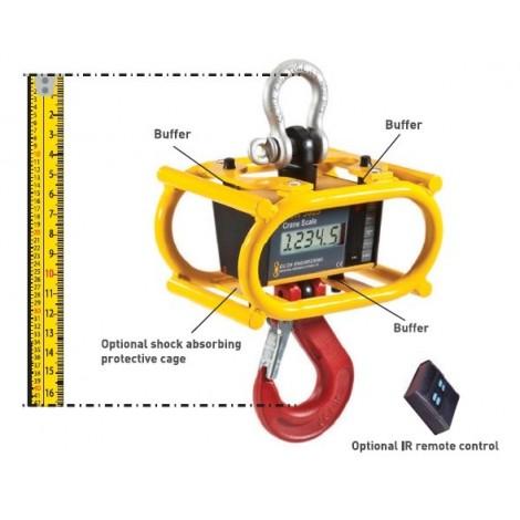 RON3025 - Dynamomètre Electronique avec afficheur 25 mm. - 0.5, ...,  12.5 Tonnes
