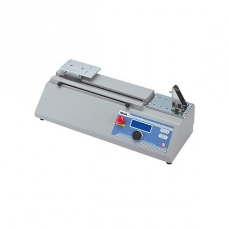 MH2-500 : Banc de test de force motorisé horizontal avec compteur et timer.