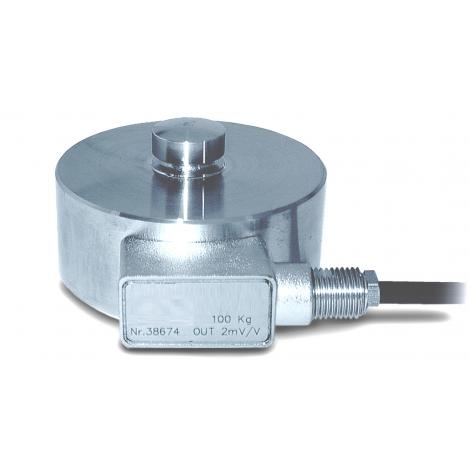 SM-C2SAM : Capteur de force en compression de 0 à 100 Kg, ..., 200 Tonnes - sortie amplifiée