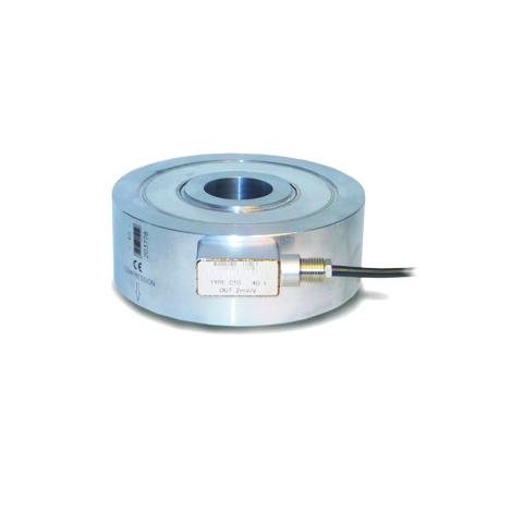 SM-C10 : Anneau de force, Rondelle de charge en compression de 0 à 1, ..., 100 Tonnes