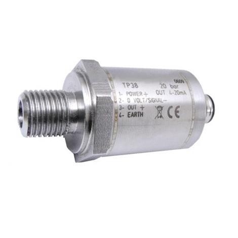 SM-TP38 : Capteur de pression version economique de 100 mbar, ..., 2000 bars