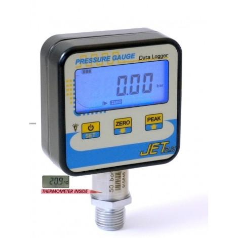 SM-JET : Digital manometer From 100 mbar, ..., 2000 bar - Datalogger and USB