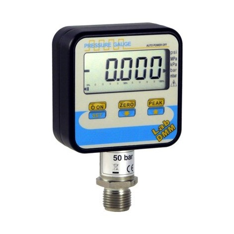 SM-LABDMM : High accuracy Digital manometer From 100 mbar, ..., 2000 bar.