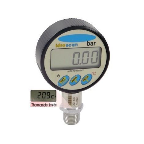 SM-IDROSCAN :  Digital manometer From 1, ..., 2000 bar, DATALOGGER and temperature