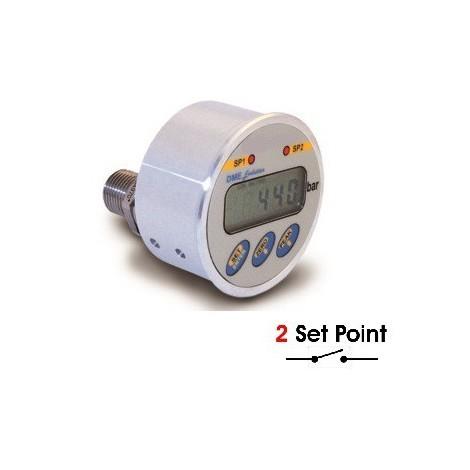 SM-DME : Manomètre digital de 1 à 2000 bar - Montage panneau - Sortie relais