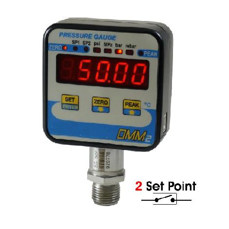 SM-DMM2 : Manomètre digital de 1 à 2500 bar - sortie relais