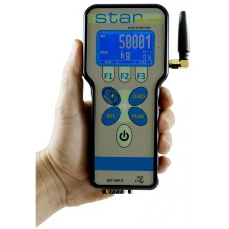 SM-WISTAR : Digital wireless Hand Held Display and datalogger (USB output)