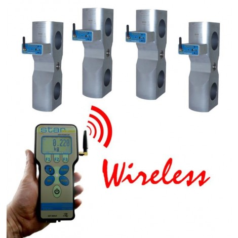 Wireless Weight measurement on LIFTING equipment.