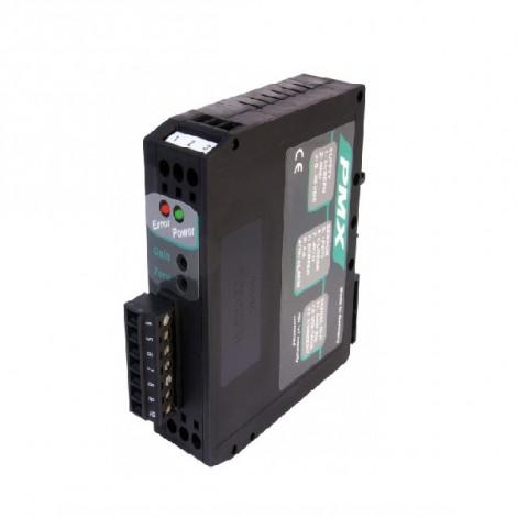 PMX : Amplificateur conditionneur pour capteurs de deplacement potentiometrique