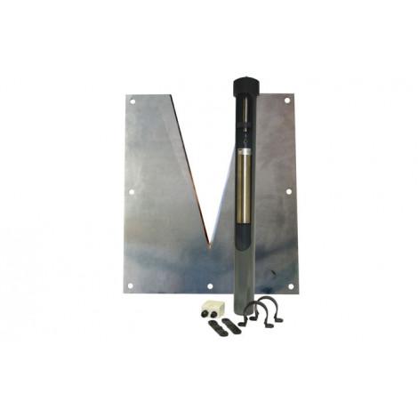 W10 : Deversoir triangulaire avec capteur à corde vibrante