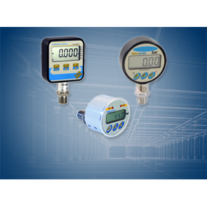 Manometers, digital pressure gauges